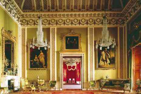 Royal Collection Trust - The State Rooms Buckingham Palace Entry Plus Tower of London - Save 0%