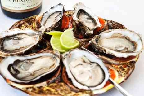 The Samphire Bush  - Highly Rated Seafood Meal & Bubbly for 2  - Save 46%