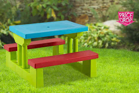 Hungry Bazaar  - Childrens garden furniture set - Save 62%