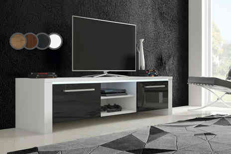 Selsey Living - Orlando TV cabinet with LED - Save 70%