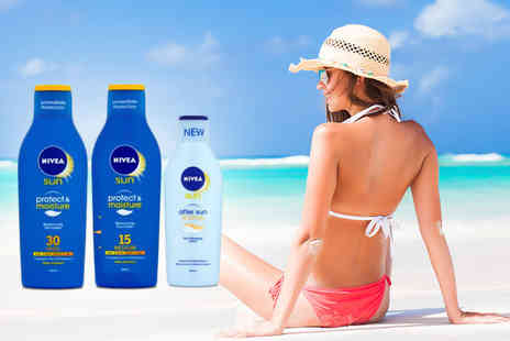 ClearChemist - Three piece Nivea sun lotion bundle  - Save 47%
