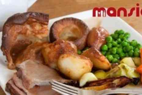 Mansion Wine Bar - Sunday Lunch For Four Plus Cocktails and Nibbles - Save 62%