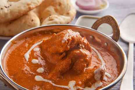 Bollywood Tandoori - Two-Course Indian Meal for Two - Save 43%