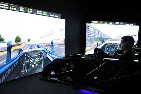 The Race Centre - Virtual Reality Racing Simulation for Two or Four  - Save 0%