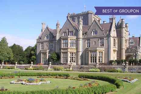 Tortworth Court - Afternoon Tea with Optional bubbly or Pimms for Two - Save 35%