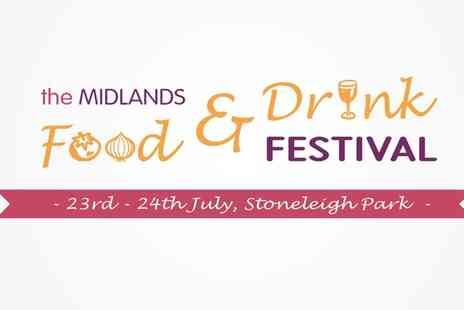 Midlands Food and Drink Festival - Child, Family or Adult Tickets to the Midlands Food and Drink Festival, Stoneleigh Park, 23 To 24 July - Save 17%