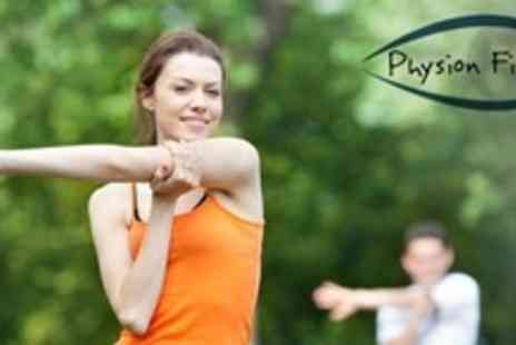 Physion Fitness - Month of Early Bird or Evening Boot Camp - Save 66%