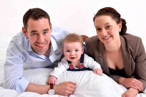 Paul Stevens Photography -  Fathers Day family photoshoot for up to ten including seven prints of one image - Save 94%