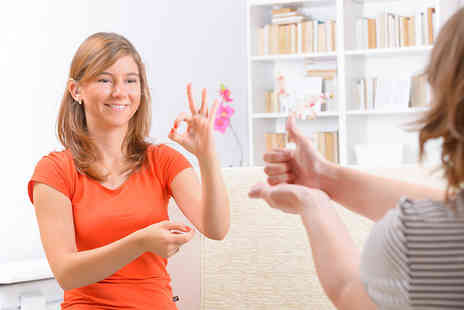 OfCourse - Online British Sign Language course covering levels one and two - Save 81%