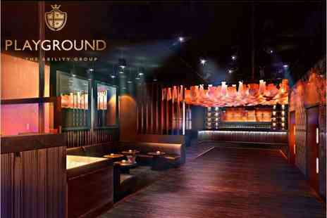 The Hilton Hotel - Exclusive hire of Playground nightclub - Save 67%