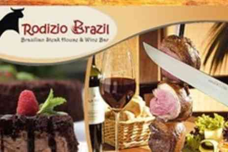 Rodizio Brazil - All You Can Eat Brazilian Rodizio Meal With Salad, Dessert and Glass of Wine - Save 53%
