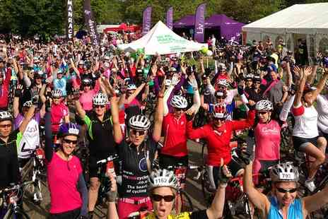 Human Race - 24km, 40km or 70km women only bike ride entry to Macmillan Cycletta Bedfordshire on 9 October - Save 10%