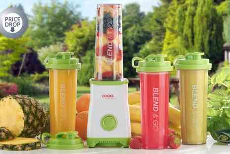 Groupon Goods Global GmbH - Cooks Professional Personal Smoothie and Drinks Blender With Two or Four Cups - Save 0%