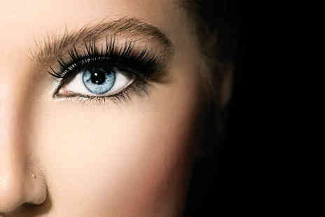 Temi T Beauty Salon - Full set of semi permanent individual eyelash extensions - Save 75%