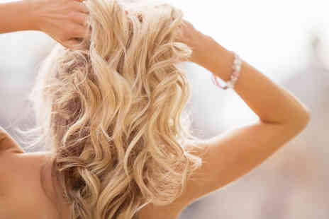 Glamour Hair & Beauty Salon - Half head of highlights, cut and blow dry or full head of highlights  - Save 70%