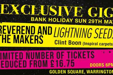 Golden Square - Ticket to Style Rocks at Golden Square Shopping Centre, 29th May - Save 40%