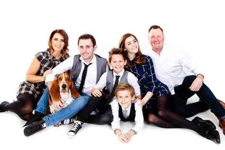 Premier Photography - Hamilton Family Photoshoot with Ten Prints and Optional Makover for Mum - Save 67%