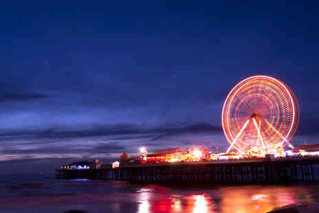 The Kings Hotel Blackpool - One or Three Night Stay For Two With Bottle of Wine - Save 0%