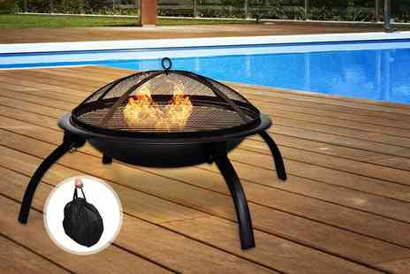 Funky Buys - Portable fire pit and carry bag - Save 62%