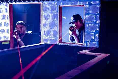 Laser Quest Stoke - Two games of laser tag for four  - Save 52%