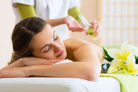 Tranquil Times - Back, neck and shoulder massage with a Ghassoul back treatment - Save 65%