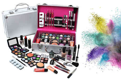 UK Home and Garden Store -  60 piece Urban Beauty vanity case - Save 64%