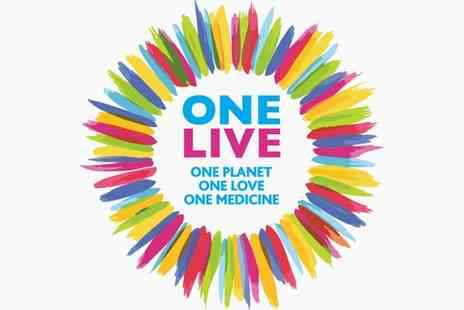 One Live Festival - One Live Festival Child or Adult Ticket On 4 June - Save 38%