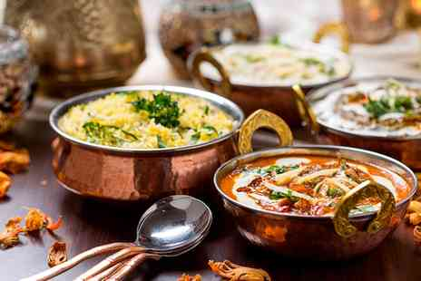Silsila Tandoori - Three Course Indian Meal for Two or Four - Save 54%