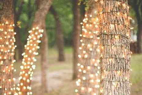 Groupon Goods Global GmbH - String of 50 LED Solar Powered Fairy Lights - Save 67%