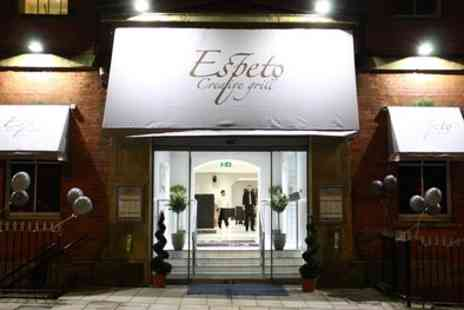 Espeto Creative Grill - £40 for Two or £80 for Four to Spend on Mediterranean Cuisine - Save 50%