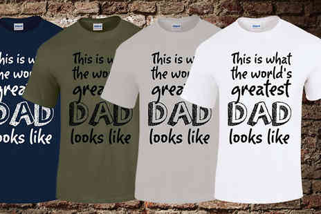 BangTidyclothing - Worlds Greatest Dad T Shirt - Save 0%