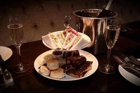 The Bowery Bar and Restaurant - Afternoon tea with a glass of Prosecco for two - Save 56%