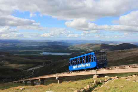CairnGorm Mountain - Railway Pass, CairnGorm Mountain with Optional Meal and Hot Drink for Two or Four - Save 58%