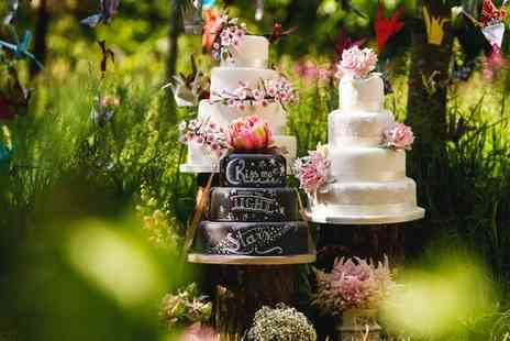 Vanilla Nova - Tiered Wedding Cake and Consultation - Save 0%