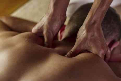 Groom and Butler - Choice of Swedish Massage with Optional Indian Head Massage - Save 60%