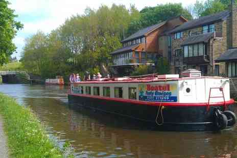 Boatel Party Cruises - Cream tea cruise on the Leeds and Liverpool canal for two - Save 0%