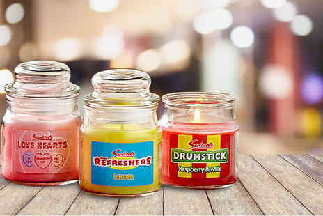 Ultimate Gift Packs - Vintage candy Swizzels three candle gift sets - Save 58%
