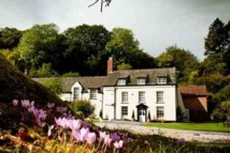 Combe House Hotel - In Somerset Two Night Stay For Two With Breakfast and Cream Tea - Save 54%