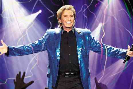 Barry Manilow One Last Time 2016 UK Tour - One, Two or Four Tickets to Barry Manilow UK Tour On 17 June - Save 45%