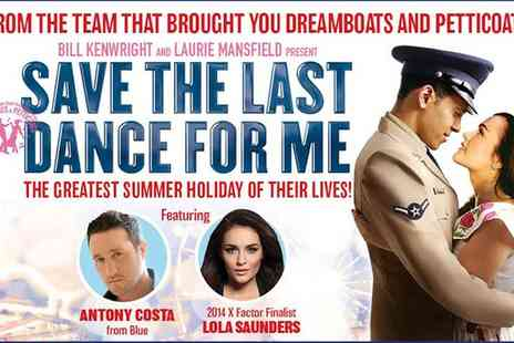 ATG Tickets - Save The Last Dance For Me Ticket on 6 to 10 June - Save 41%