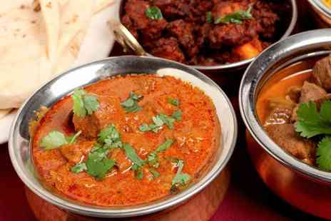 Royal Spices Wakefield - Two Course Indian Meal for Two or Four - Save 35%