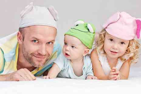 Flawless Studios - Fathers Day photoshoot for a family of four including two prints - Save 82%