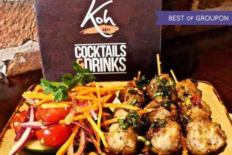 Koh Thai Tapas - Two Course Meal for Two or Four - Save 50%