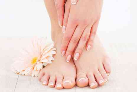 Rejuvenate Laser & Beauty Rooms - Jessica Geleration Manicure or Pedicure or Both - Save 25%