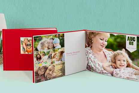 Photobook UK - 40 Pages Personalised Debossed Hardcover Photobook - Save 82%