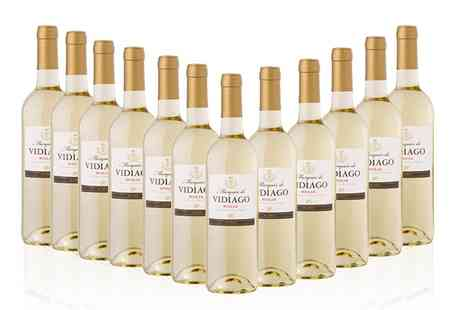 Monte Regio  - 12 Bottles of Marques De Vidiago White Rioja Wine With Free Delivery - Save 56%