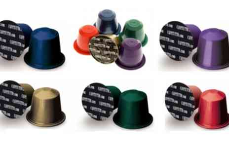 Groupon Goods Global GmbH - 100 Cafetutto Nespresso Compatible Coffee Capsules in Mixed Variety Pack - Save 0%