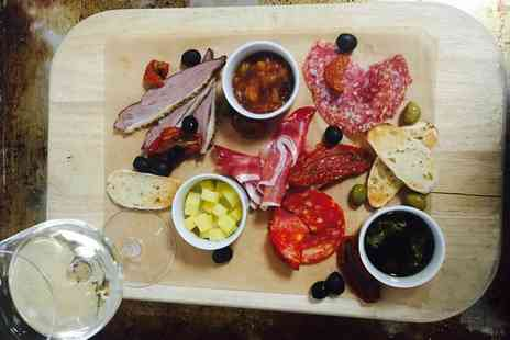 The Renaissance Hotel - Antipasti platter for two with a bottle of wine to share - Save 62%