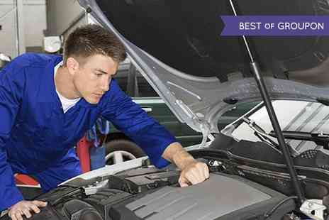 Chapmans Auto Centres - Full Car Service Including Oil and Filter Change, Air Filter Change, Nine Point Brake Safety Check, Plus MOT - Save 0%
