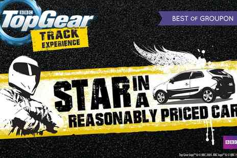 Top Gear Track Experience - BBC Top Gear Choice of Star in a Reasonably Priced Car Experience - Save 0%
